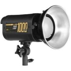 Imagem de Iluminador Video Light Led 1000 Pró 5500k Com Dimmer Filmagem Estúdio Fotográfico Fundo Infinito escola igreja pulpito