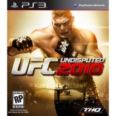 Jogo UFC Undisputed 2010 PlayStation 3 THQ