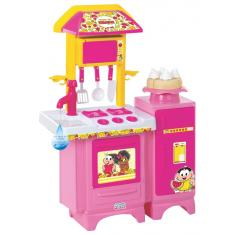 Imagem de Cozinha Turma da Mônica c/ Geladeira e acessórios Magic Toys