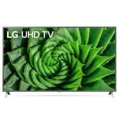 "Smart TV LED 75"" LG ThinQ AI 4K HDR 75UN8000PSB"