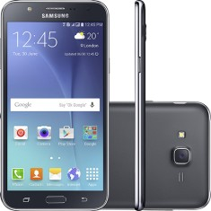 Smartphone Samsung Galaxy J7 J700MDS 16GB Exynos 7580 13,0 MP 2 Chips Android 5.1 (Lollipop) 3G 4G Wi-Fi