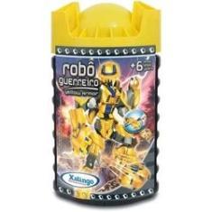 Imagem de Brinquedo Para Montar Robo Guerreiro Yellow Armor