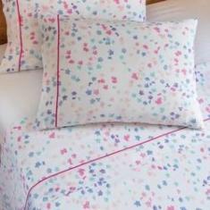Imagem de jogo de cama queen scavone 300 fios 100% algodão manuela básico