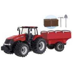 Imagem de Trator de Brinquedo Case Agriculture Graneleiro 1/30 Menino