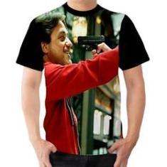 Imagem de Camiseta Camisa Arturo Tema La Casa De Papel Série Ladrões