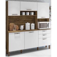Imagem de Cozinha Compacta 2 Gavetas 6 Portas Ferrara Kits Paraná