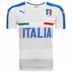 Camisa Itália 2016 Treino Masculino Puma f79a64bddc972