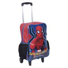 Imagem de Mochila com Rodinhas Escolar Sestini G Spiderman