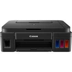 Impressora Multifuncional Canon PIXMA G2100 Tanque de Tinta Colorida