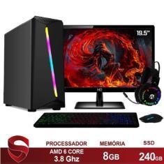 Imagem de PC Skill 40435 AMD A6 7480 8 GB 240 Radeon R7 Linux