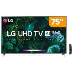 "Imagem de Smart TV LED 75"" LG ThinQ AI 4K HDR 75UN801C0SB"