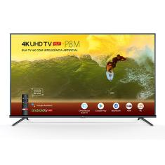 "Smart TV LED 50"" TCL 4K HDR 50P8M 3 HDMI"