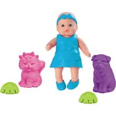 Imagem de Boneca Bebê Mania Pet Roma Brinquedos