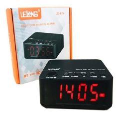Imagem de Caixa De Som Rádio Relógio Fm Bluetooth Despertador Le-674