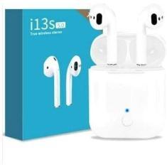 Fone de Ouvido Bluetooth com Microfone TWS i13s