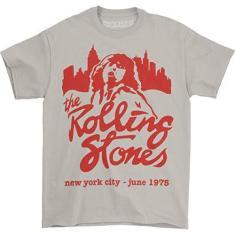 Imagem de Camiseta Bravado The Rolling Stones Mick junho de 1975 – Bege