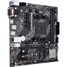 Placa-Mãe Asus para amd AM4 Prime A520M-E 2xDDR4 matx