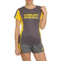 Imagem de Camiseta Esportiva Everlast Com Tela