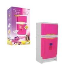 Imagem de Refrigerador Duplex Casinha Flor - Com Som -  - Xalingo