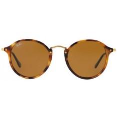 b056dedeaa887 Óculos de Sol Feminino Ray Ban Round Fleck RB2447