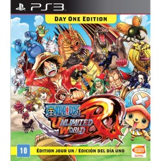Jogo One Piece: Unlimited World Red PlayStation 3 Bandai Namco