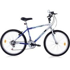 Bicicleta Mountain Bike Houston 21 Marchas Aro 24 Freio V-Brake Atlantis Land