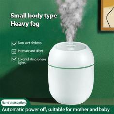 Imagem de Umidificador de ar portátil usb, difusor umidificador para casa, quarto, grande capacidade usb,