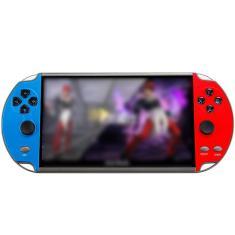 Imagem de X12Plus Retro Vídeo Handheld Game Console 7 polegadas HD tela grande psp Duplo Rocker Handheld Jogos do Jogador