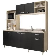 Imagem de Cozinha Compacta 1 Gaveta 6 Portas Dalia Cadorin