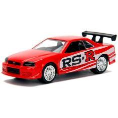 Imagem de Miniatura - 1:64 - 2002 Nissan Skyline GT - R (BNR34)  - JDM Tuners - Jada Toys