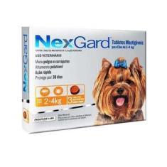 Nexgard 3 Comp 0,50Gr - P (2 A 4 Kg)