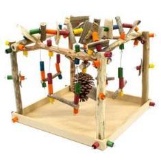 Imagem de Playground Parque para Pássaros - Toy for Bird