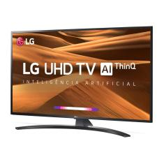 "Smart TV LED 65"" LG ThinQ AI 4K HDR 65UM7470PSA"