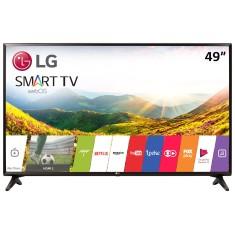 """Smart TV LED 49"""" LG Full HD 49LJ5550 2 HDMI"""