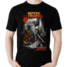 Imagem de Camiseta Lobo Guerreiro Mystic Fighters Lobisomem