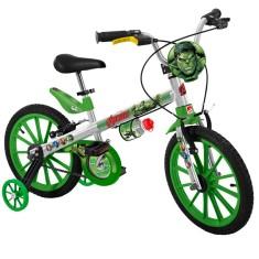 4324ef3cd Foto Bicicleta Bandeirante Hulk Aro 16 Freio V-Brake X- Bike