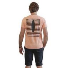 Imagem de Camiseta Surf Arte Laranja
