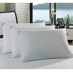 Imagem de Travesseiro 50% Pluma e 50% Fibra - Percal 233 Fios - Plumasul