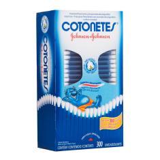 Imagem de Hastes Flexíveis COTONETES 300 Unidades