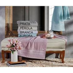Imagem de Toalha Banho Requinte 68 x 140 cm Prata Appel