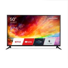 """Imagem de Smart TV LED 50"""" Multilaser 4K TL019 3 HDMI"""