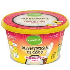 Imagem de Kit 5 Manteiga de coco Qualicôco 200g