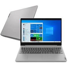 """Notebook Lenovo IdeaPad 3i 82BU0001BR Intel Celeron N4020 15,6"""" 4GB SSD 128 GB Windows 10"""