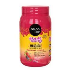 Imagem de Máscara de hidratação Matizadora #todecacho Vermelhão do Poder Salon Line 500g