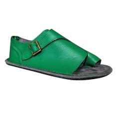 Imagem de Sandálias femininas de verão Sandálias retrô com fivela de fivela sapatos romanos de fundo plano feminino