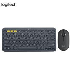 Imagem de Logitech k380 teclado sem fio bluetooth e conjunto de mouse teclado silencioso e conjunto de mouse