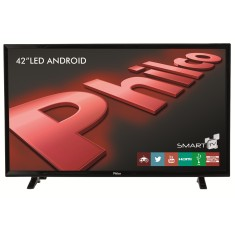 "Smart TV LED 42"" Philco PH42B51DSGWA 2 HDMI LAN (Rede)"