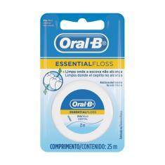 Imagem de Fio Dental Oral-B Essential Floss Encerado 25m