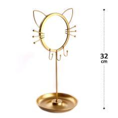 Imagem de Porta-joias de Gatinho com Espelho Interpontes