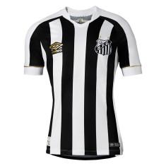 Camisa Santos II 2018 19 Jogo Masculino Umbro 7da3ce08d9b06
